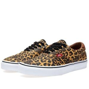 Vans Era 59 Leopard Canvas Sneakers